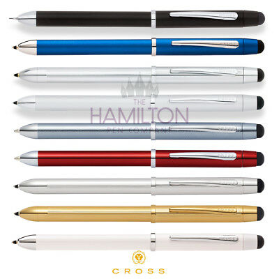 CROSS TECH3+ MULTIFUNCTION STYLUS PEN - available in 9 modern finishes
