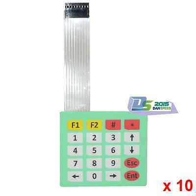 10 Matrix Array 20Key Slim Membrane Switch 4x5 Keypad 4*5 Keyboard For Arduino