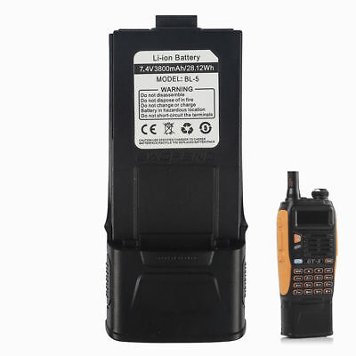 *3800mAh* High Capacity Li-ion Battery for Baofeng GT-3 / GT-3TP Two-way Radio