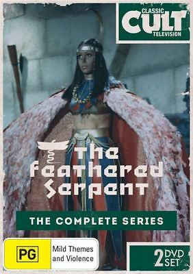 A7 BRAND NEW SEALED The Feathered Serpent - Complete Series (DVD, 2013, 2-Disc)