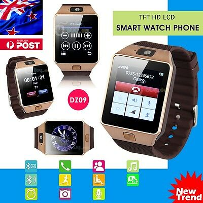 DZ09 Bluetooth Smart Watch for Samsung iphone HTC Android Phone with Camera SIM