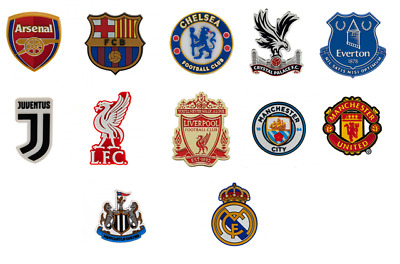 OFFICIAL FOOTBALL CLUB - 3D CREST FRIDGE MAGNETS - 8 Teams - [Free UK Delivery]