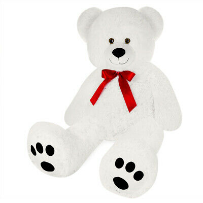 Grand Nounours  Ours Peluche Géant Ourson Xl Teddy Bear Blanc
