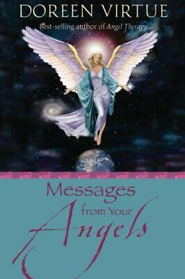 Messages from Your Angels by Virtue, Doreen Paperback Book The Cheap Fast Free