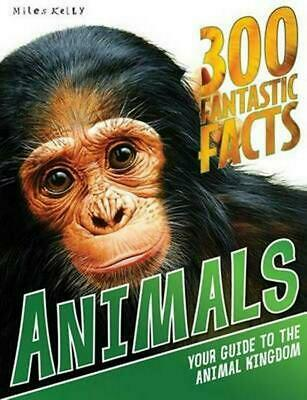 Animals: 300 Fantastic Facts by Jinny Johnson Paperback Book Free Shipping!