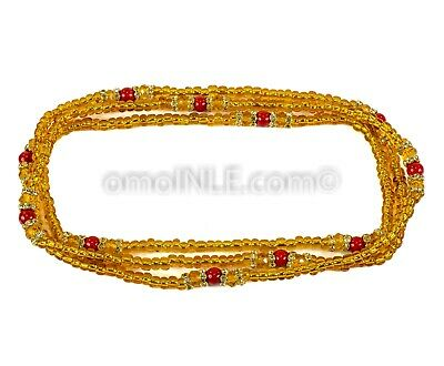 Collar De Ildeu, Eleke Ifa Yoruba Orisha Glass Bead Great Quality Free Shipping