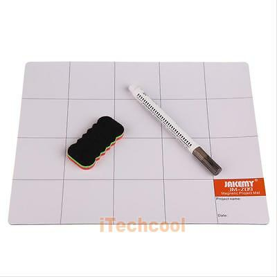 Genuine Quality JAKEMY JM-Z09 Magnetic Screw Mat Tool for iPhone 5 5S  #T1K