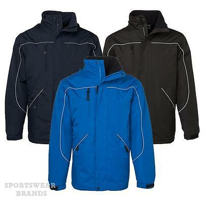 Adults Tempest Wet Weather Jacket Black Navy Royal Cold Mens Winter New 3TPJ