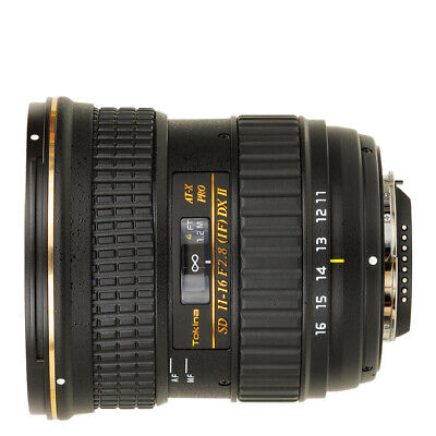 NEW Tokina AT-X 116 PRO DX II AF 11-16mm F/2.8 Lens for Canon 1 Year Warranty