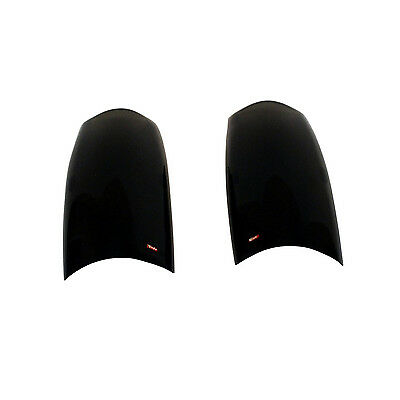 Westin 72-50804 Solid Smoke Acrylic Tail Light Covers for 99-04 Grand Cherokee