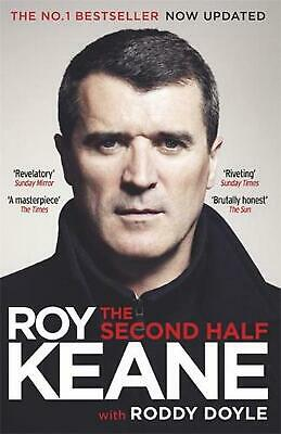 Second Half by Roy Keane (English) Paperback Book Free Shipping!