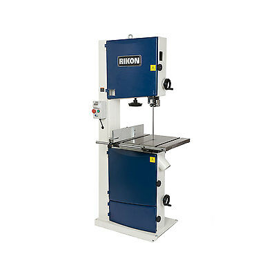 "Rikon Tools 10-370 18"" 2-1/2 HP 220-Volt Wood/Metal Bandsaw with Dual Dust Ports"
