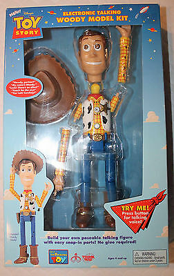 Toy Story Rare Electronic Talking Woody MODEL KIT!