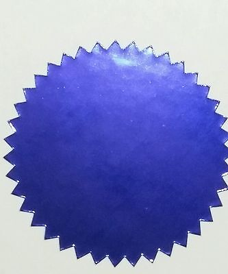Shiny Purple Foil Notary /& Certificate Seals 2 Inch Burst Roll of 500 Seals
