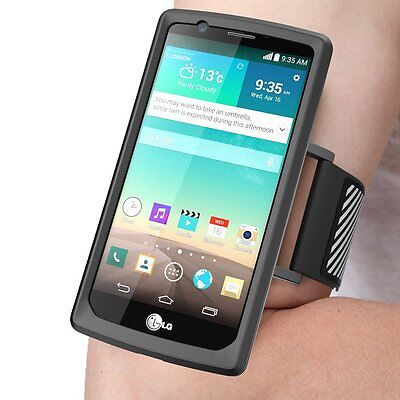 Genuine Supcase For Lg G4 Armband Case Cover Pouch Gym Sport Running