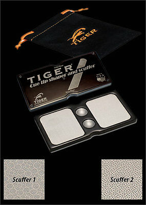 Brand New -  Le Manifik Pool Cue Tip Shaper and Scuffer From Tiger Products