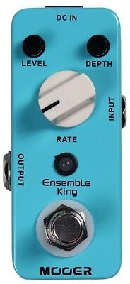 Mooer Ensemble King, Analog Chorus Micro Pedal