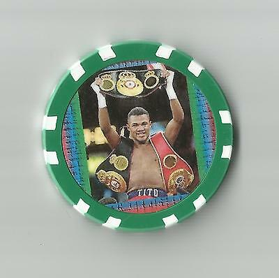 Felix Trinidad **tito**   Fight Collector  Chip