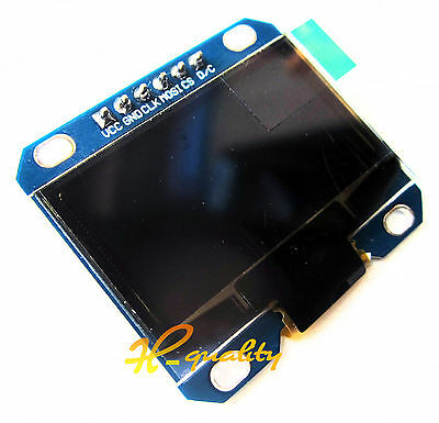 """5PCS White1.3"""" SPI Serial 128X64 OLED LCD LED Display Module for Arduino UNO R3"""