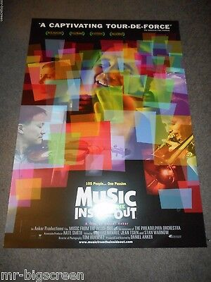 Music From The Inside Out - Original Ss Rolled Poster - 2004
