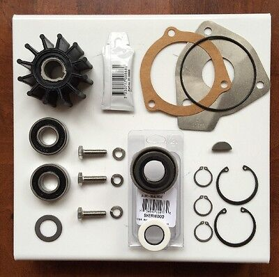 Sherwood Raw Water Pump Rebuild kit OEM Parts 23979 12665 G15 G21 G30 J70 K75B