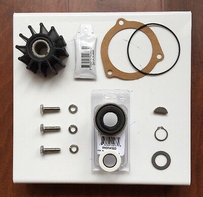 Sherwood Raw Water Pump Rebuild kit OEM 9959 Impeller 23979 G15 G21 G30 J70 K75B