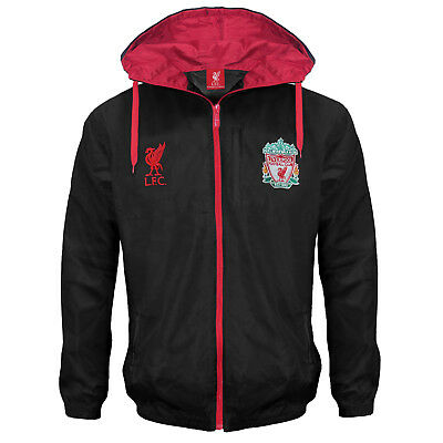 Liverpool Football Club Official Soccer Gift Mens Shower Jacket Windbreaker