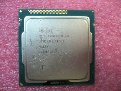 QTY 1x INTEL Xeon E3 or i7 unknown Quad Core CPU 2.20GHZ/8MB LGA1155 ES QB3K