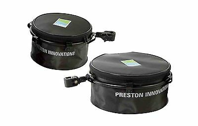 Preston Innovations Offbox Eva Bowl & Hoop Small Groundbait Bucket For Seatbox