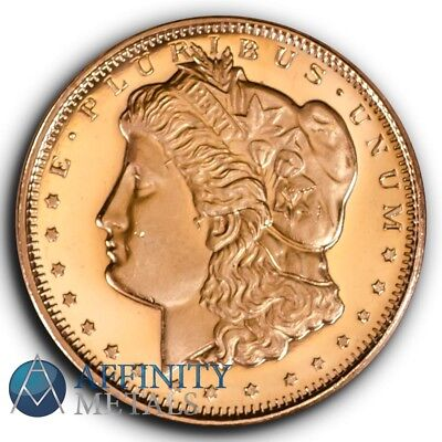 Morgan Dollar 1/2 oz .999 Copper Bullion Round