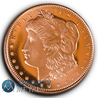 Morgan Dollar 1/4 .999 Copper Bullion Round
