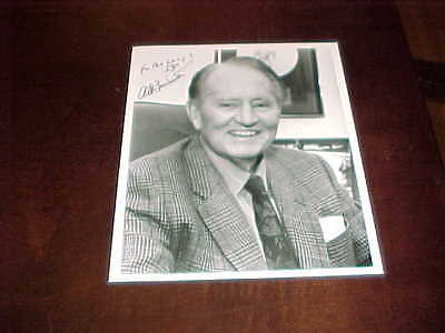 Actor TV Star Art Linkletter Autographed Signed Photo with inscription