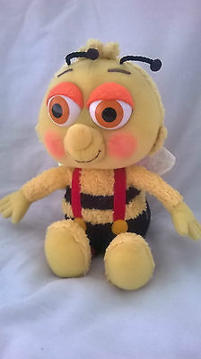 """Fi Fi And The Flowertots Bumble Bee Plush Soft Toy Teddy - Approx 11"""" -Free Post"""