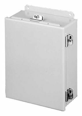 NEW HOFFMAN A1008CHNF Metallic Jct Box Encls, 10inH x 8inW, IP66