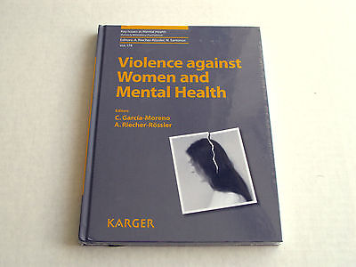 Violence Against Women and Mental Health by S Karger (Hardback, 2013) New Sealed