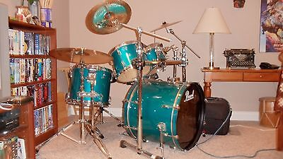 Pearl Export Series Drumset w/ double kick and racking system