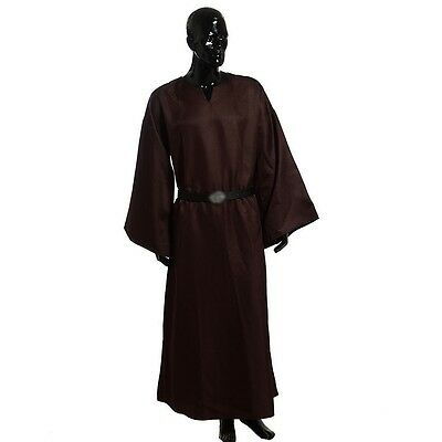 High Quality Medieval Wicca Pagan Ritual Robe With Belt Handmade Cosplay Costume