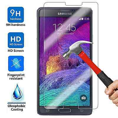 5x Wholesale Lot Tempered Glass Screen Protector for Samsung Galaxy Note 4