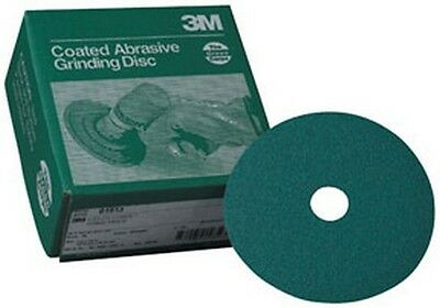 """3M 1922 Green Corps™ Grinding Disc 01922, 7"""" x 7/8"""", 36, 20 discs/bx"""