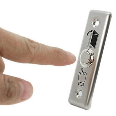 Stainless Steel Door Switch Door Exit Push Release Button for Access Control
