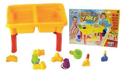 Sand Water Table Kids Outdoor Beach Fun Sandpit Garden Play Set Bucket And Spade