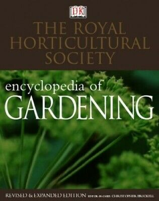 RHS Encyclopedia Of Gardening by Brickell, Christopher Hardback Book The Cheap