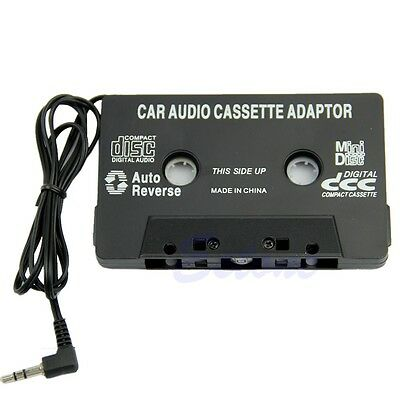 Car Tape Audio Cassette Radio Adapter 3.5mm Aux Cable For iPhone iPod MP3 CD MD
