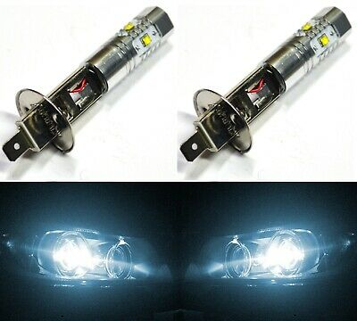 CREE LED 30W H1 White 6000K Two Bulbs Head Light Replacement High Beam Lamp Fit