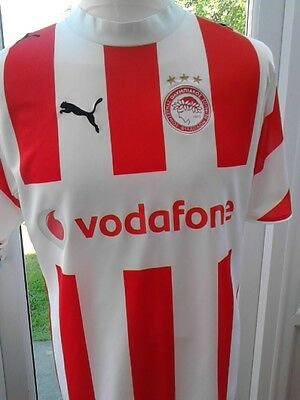 Olympiakos home shirt  size S adult