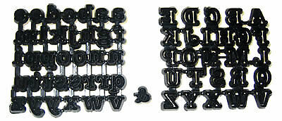 Patchwork Cutters TUBBY ALPHABET Sugarcraft Cake Decorating