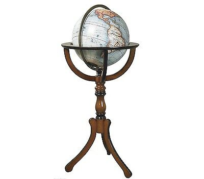 Library Globe with Floor Stand Authentic Models GL047
