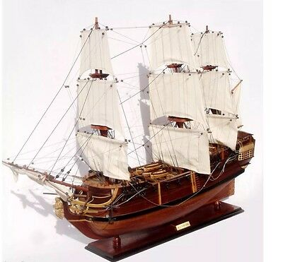 HMS Pandora Tall Ship Model -  Handcrafted Wooden Model Ship NEW