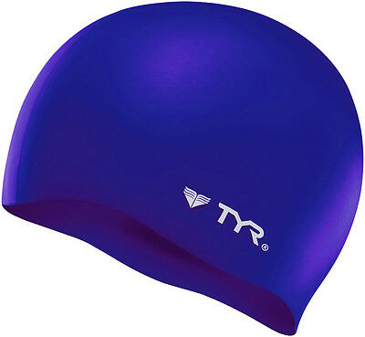Tyr Wrinkle Free Silicone Cap Purple Silicone