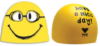 Tyr Have a Nice Day Cap Yellow Silicone